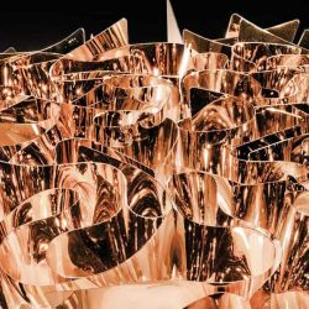 Slamp Veli Medium, Gold-Silber-Kupfer-Edition