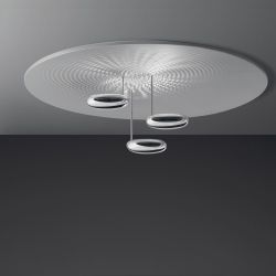 Artemide Droplet Soffitto LED-Deckenleuchte-Anthrazit; mit LED (2700K)