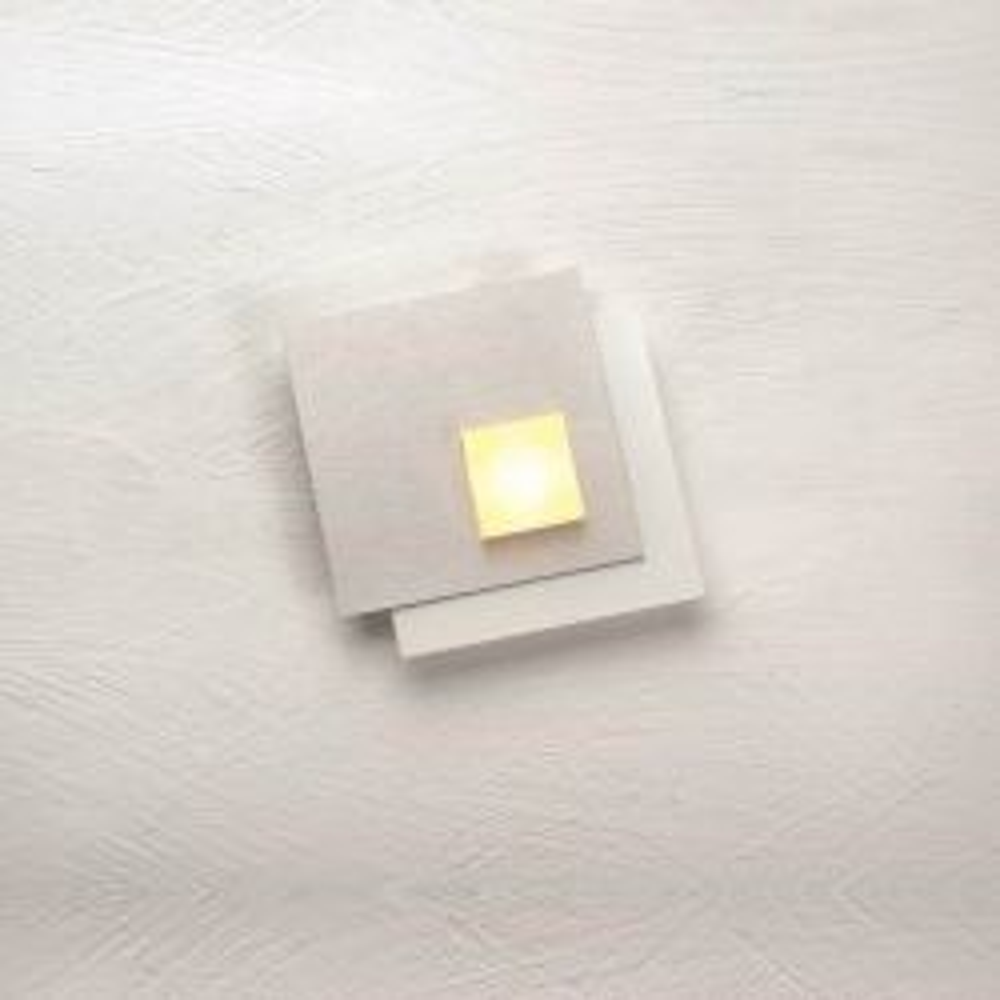 Bopp Leuchten Pixel 2.0 LED-Deckenleuchte 1-flammig-Weiß; mit LED (2700K)-Dekoplatte Aluminium