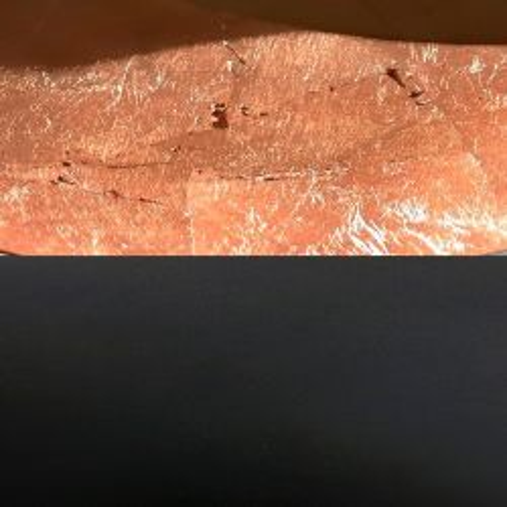 Catellani-Smith LEDERAM W, Ø 25 cm LED-Wandleuchte Schwarz/Kupfer