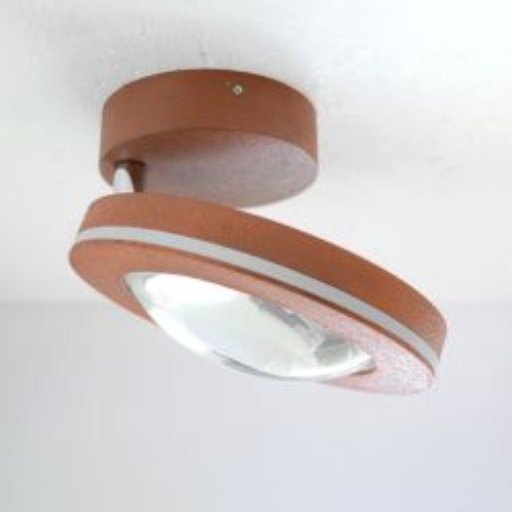 Escale Vio 1-flammig LED-Deckenleuchte-Rost; mit LED (2700K)