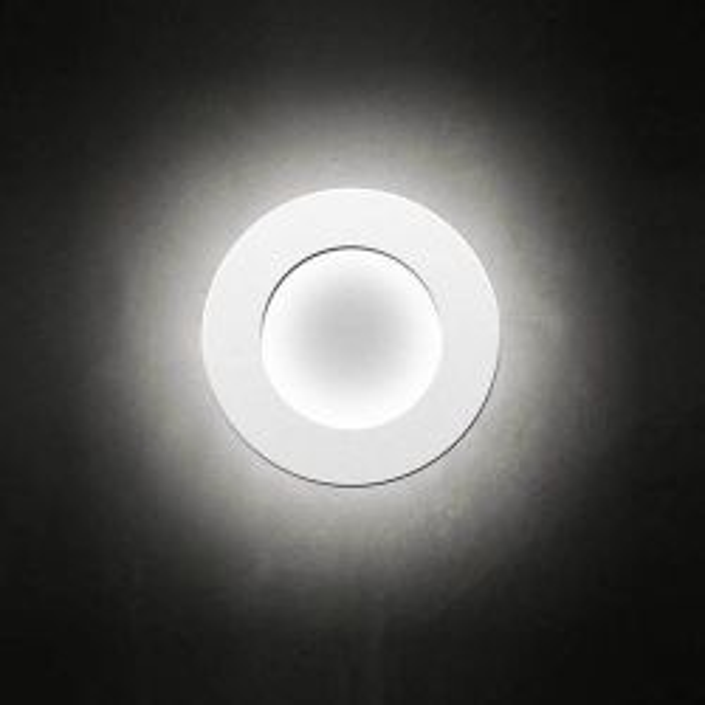 Minitallux Vera 31 LED Wand-/Deckenleuchte-Weiß-mit LED (2700K)
