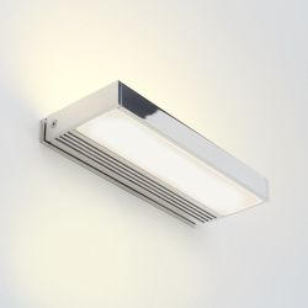 Serien Lighting SML² 150 LED Wall-Alu poliert - satinée/satinée; mit LED (3000K)