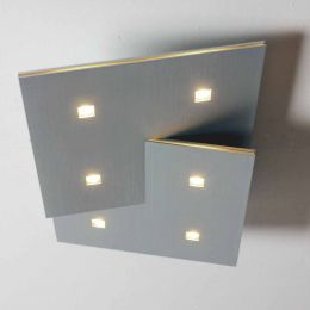 Bopp Leuchten LED-Deckenleuchte Extra 6-flg.