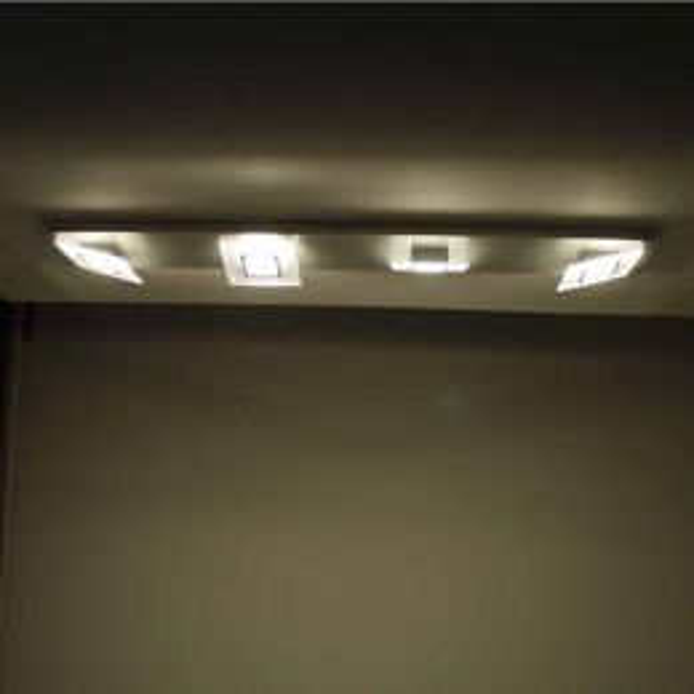 Bopp Leuchten Frame LED-Deckenleuchte 4-flg. 1 Meter