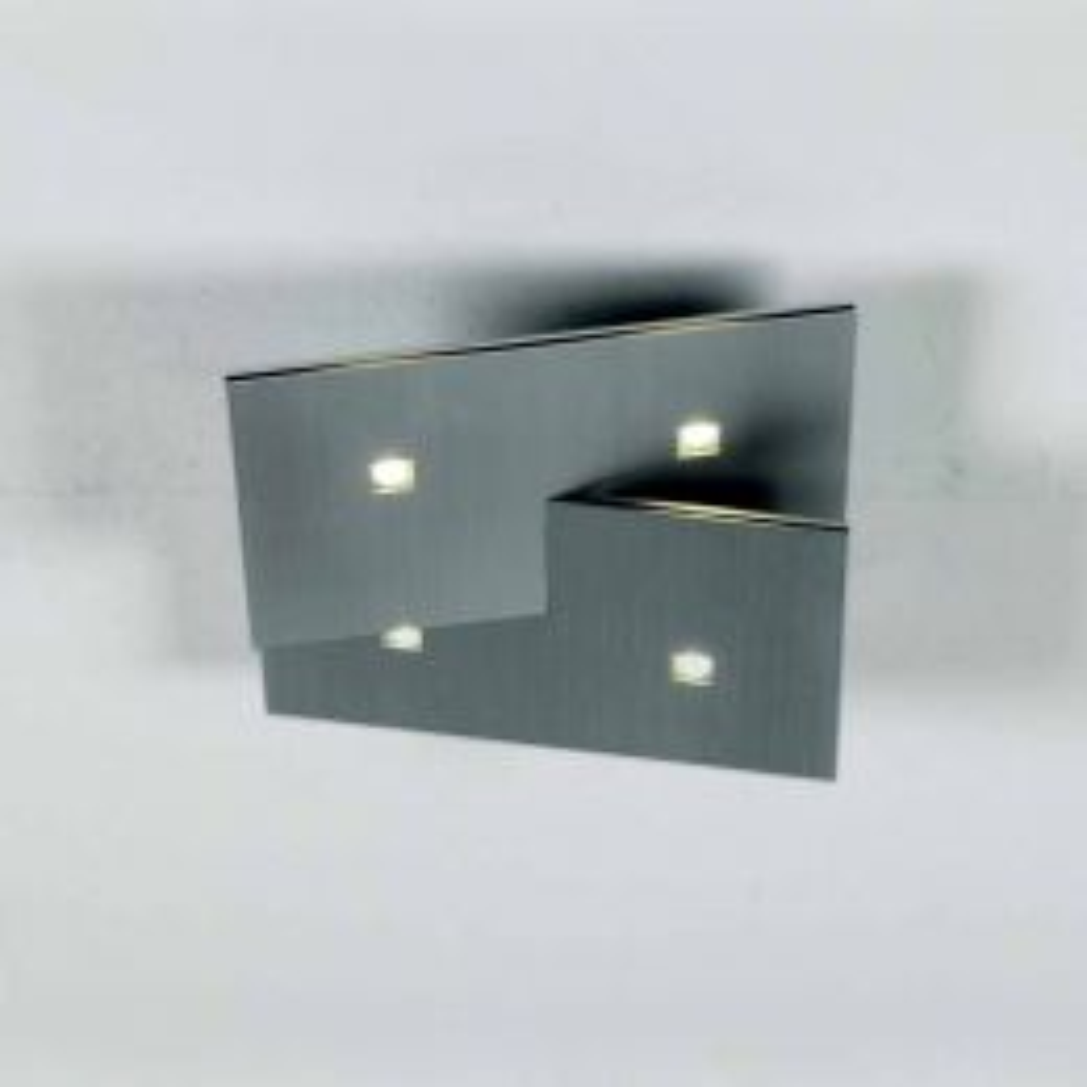 Bopp Leuchten LED-Deckenleuchte Extra 4-flg.