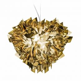Slamp Veli Large Suspension, Gold-Silber-Kupfer-Edition