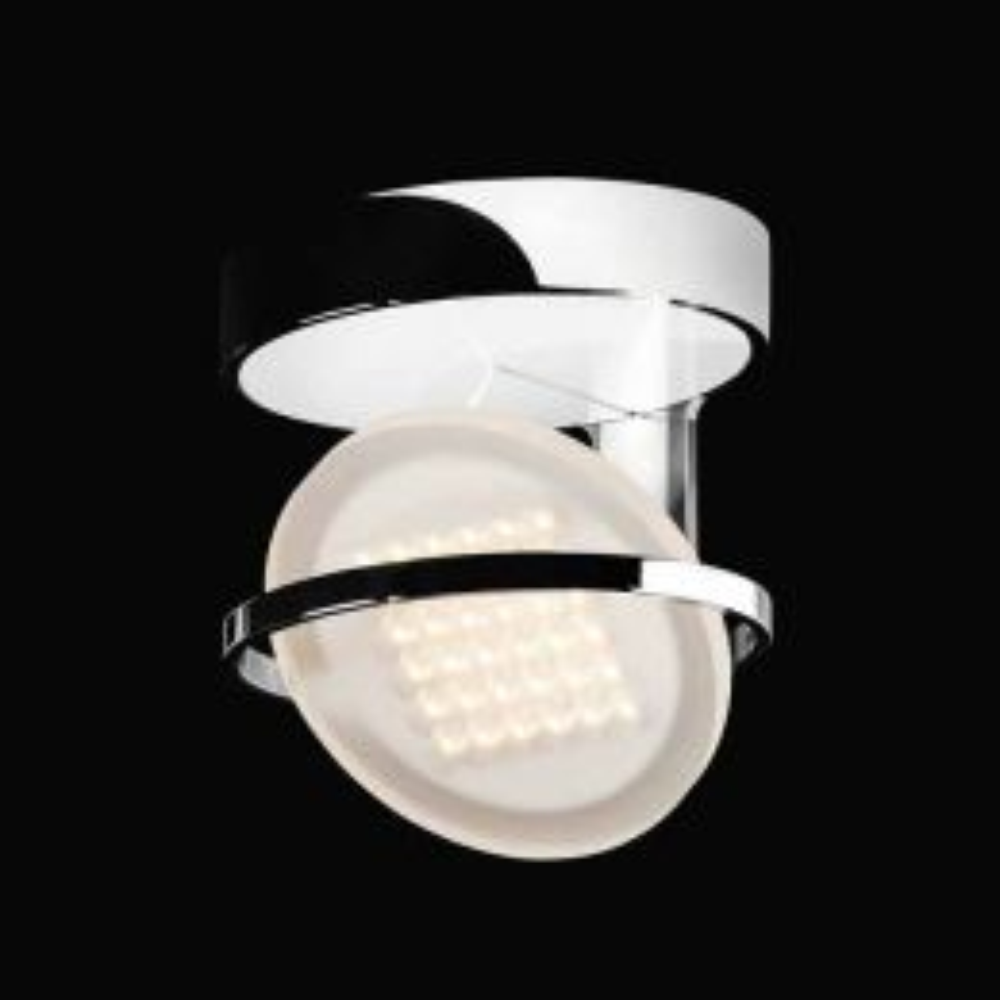 Nimbus Rim R 36 warmweiß - Chrom, mit LED (3000K)