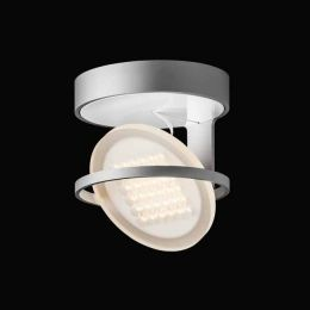 Nimbus Rim R 49 warmweiß - Silber eloxiert, mit LED (3000K)