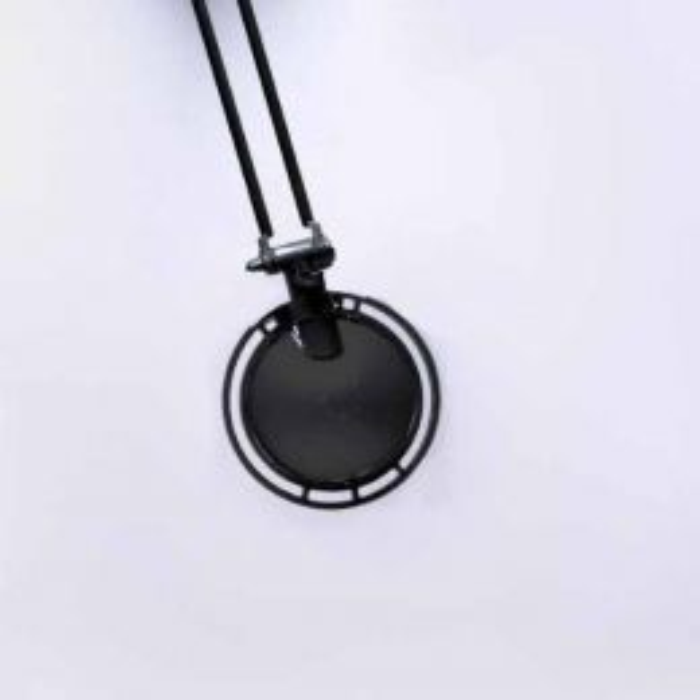 Luceplan Berenice Tavolo Piccolo schwarz - Metallreflektor schwarz