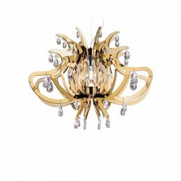 Slamp Lillibet Suspension, Gold-Silber-Kupfer-Edition