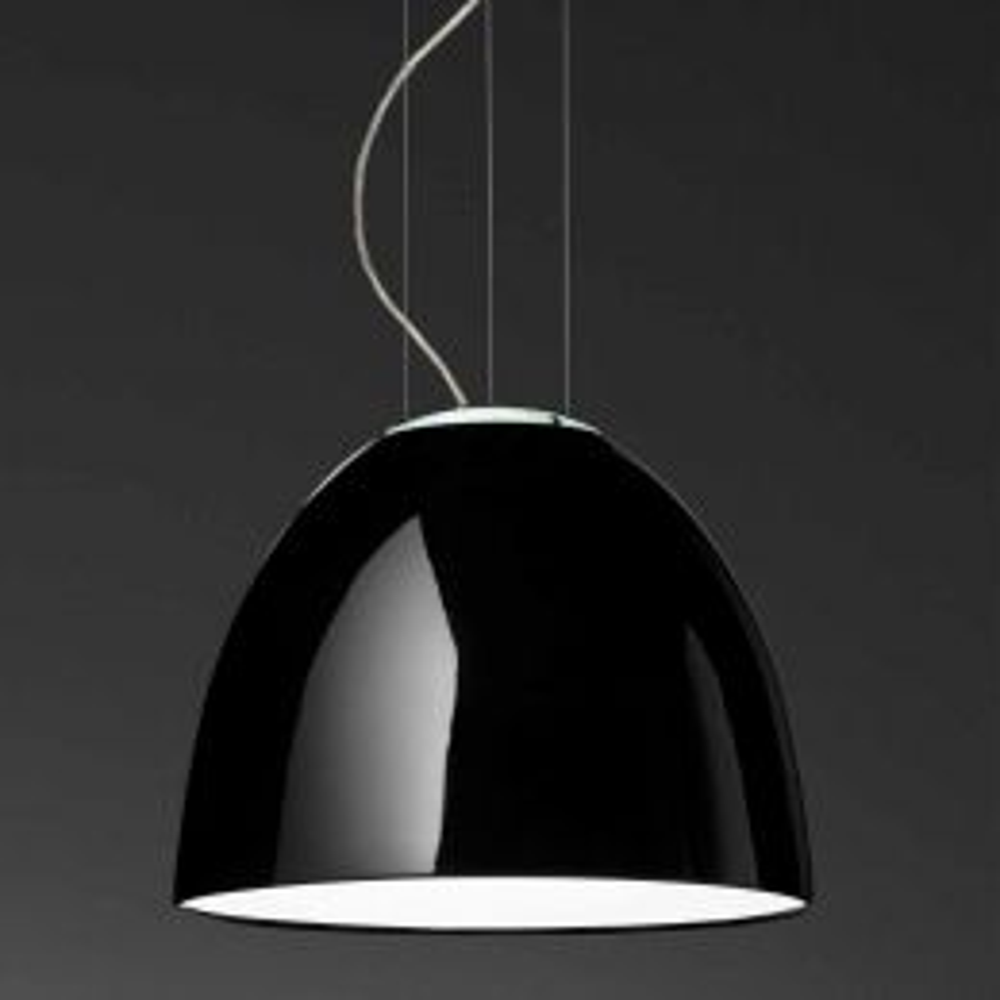 Artemide Nur Gloss Sospension LED-Pendelleuchte - Schwarz glänzend, mit LED (2700K)