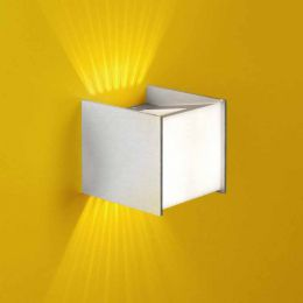 Casablanca Leuchten Box LED-Wandleuchte - Alu gebürstet