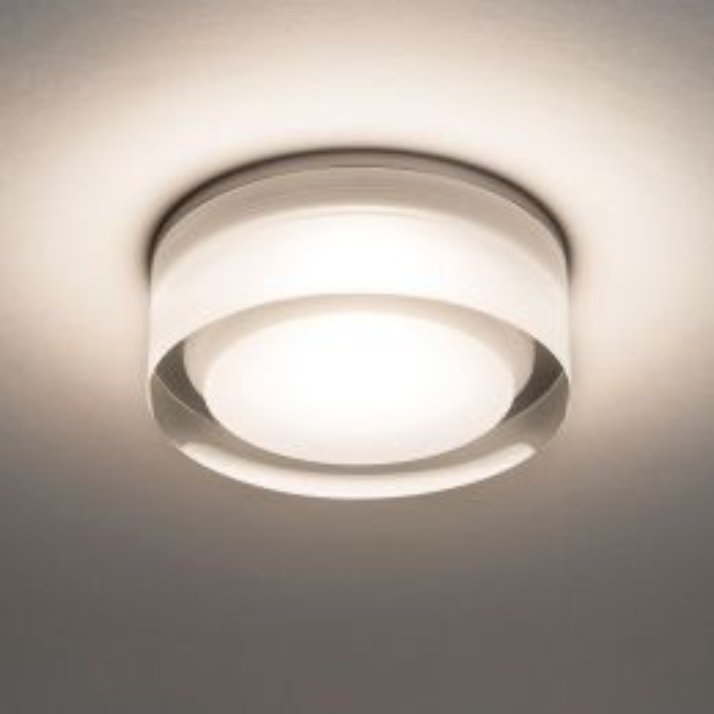 Astro Vancouver Round 90 LED-Deckeneinbauleuchte Acryl klar