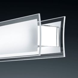 Bankamp Street 2971 LED-Pendelleuchte - Nickel matt/Chrom, mit LED (2800K)