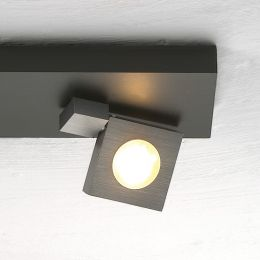 Bopp Flash LED-Deckenstrahler 2-flammig-Anthrazit - Schwarz