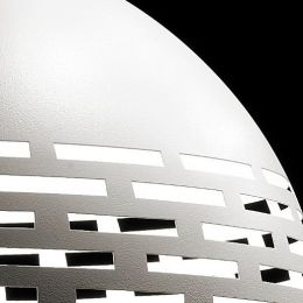 Braga Greka LED S80 LED-Pendelleuchte-Weiß; mit LED