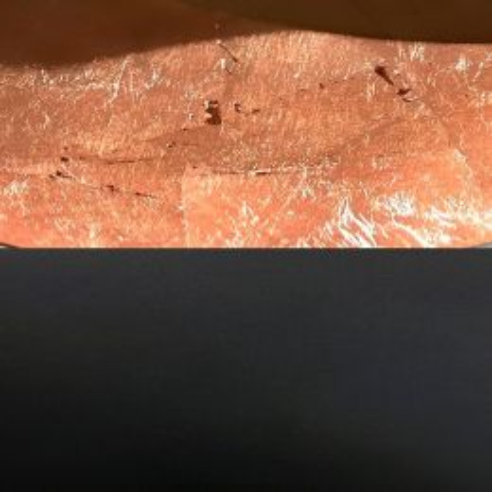Catellani-Smith LEDERAM W1, LED-Wandleuchte Wandhalterung: schwarz, Kopf: kupfer