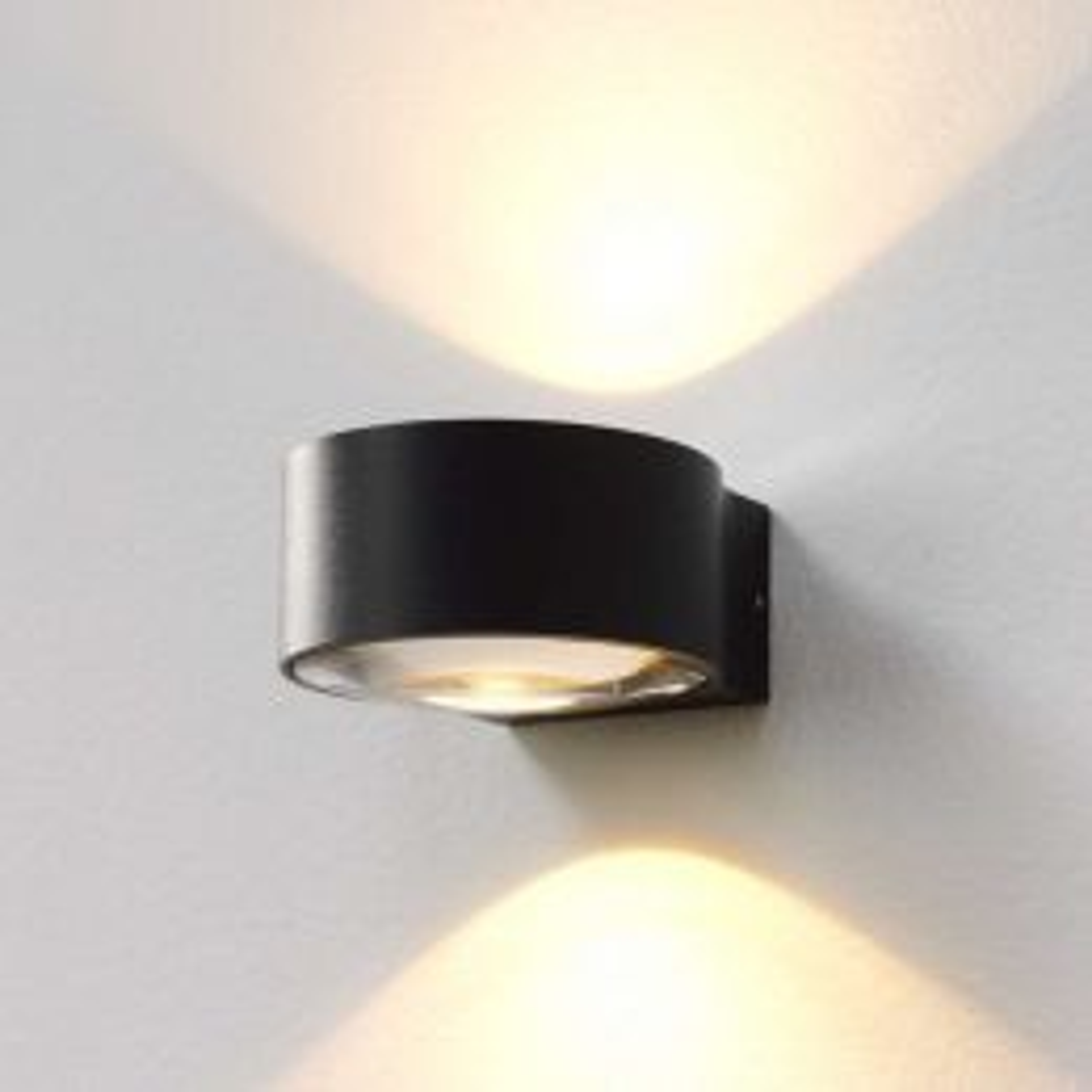 Easylight Hudson LED-Wandleuchte für den Innen- und Außenbereich-Anthrazit