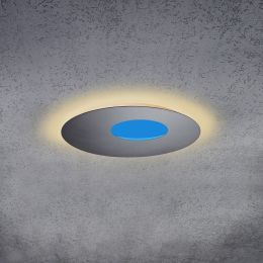 Escale Blade Open 59 LED Wand- und Deckenleuchte-Betonoptik-mit LED (2700K)
