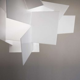 Foscarini Big Bang L LED Sospensione-Weiß
