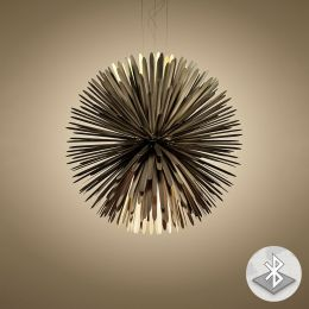 Foscarini Sun-Light of Love MyLight LED-Pendelleuchte Gold 01