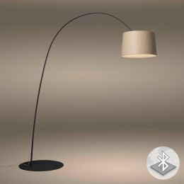 Foscarini Twiggy Wood MyLight Terra LED-Stehleuchte Schwarz 01