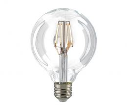 Sigor 7 Watt LED Globelampe Filament dimmbar 95 mm
