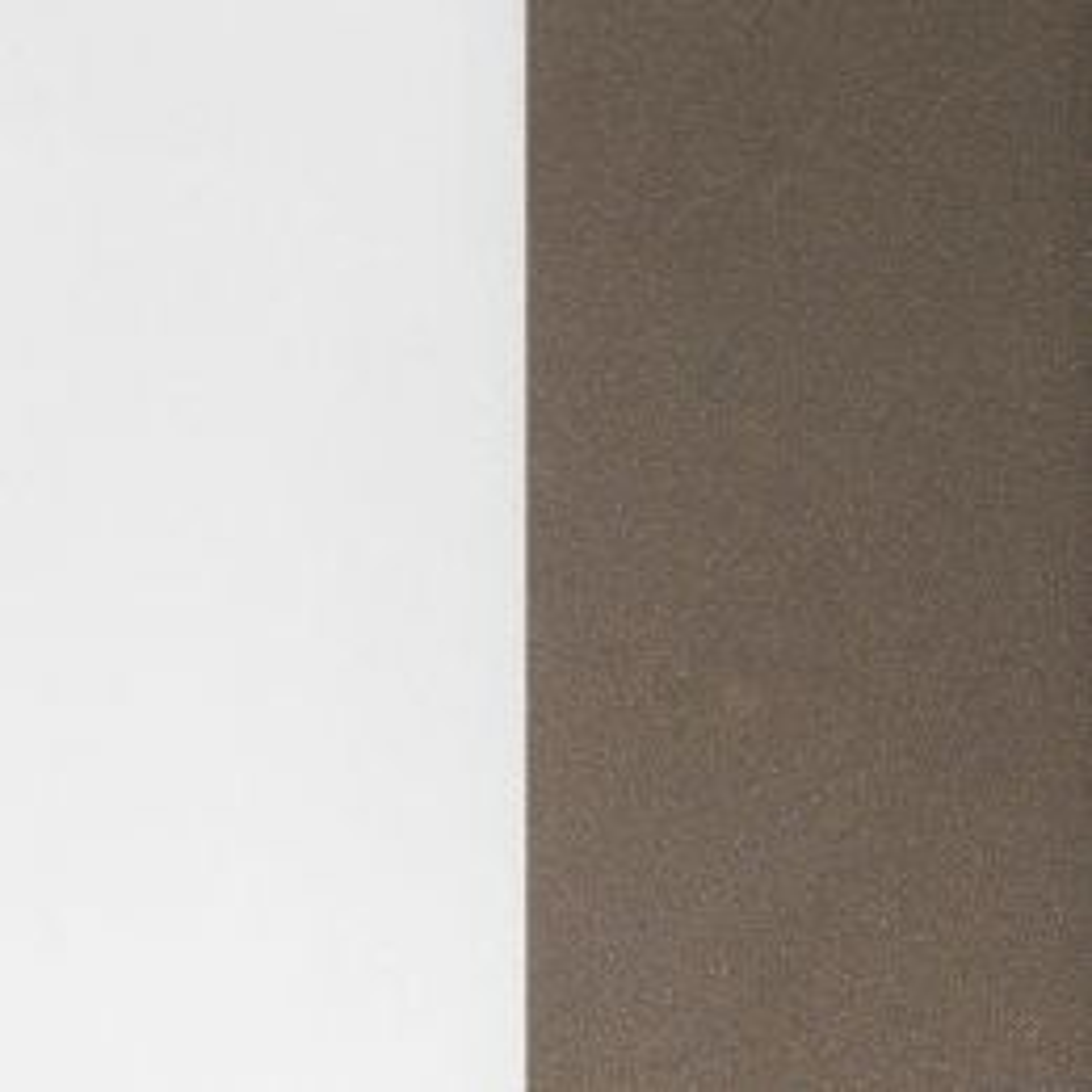 Minitallux Kone 35AP LED-Wandleuchte-Chocolate - Weiß