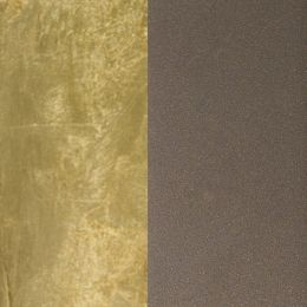 Minitallux Cubo 2.20 LED-Wandleuchte-Chocolate - Blattgold