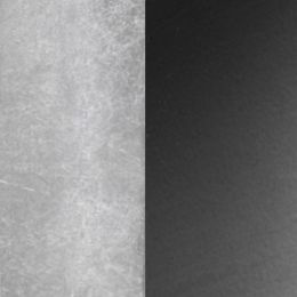 Minitallux Kone 7P LED-Deckenleuchte-Titanium - Blattsilber