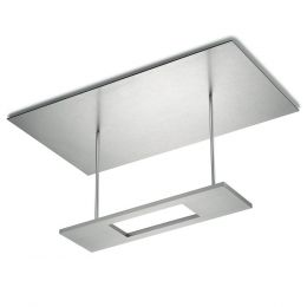 LED-Deckenleuchte 91.313 Nickel matt
