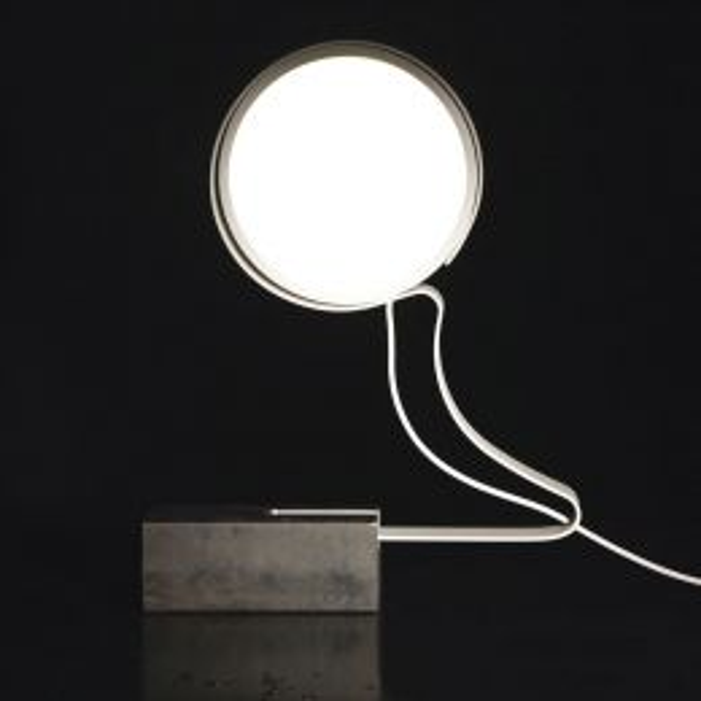 Knikerboker do not disturb profile table LED-Tischleuchte Weiß 1