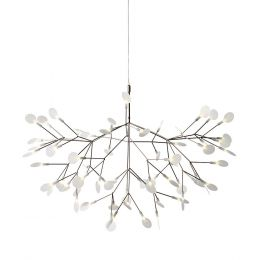 Moooi Heracleum II S LED-Pendelleuchte Nickel