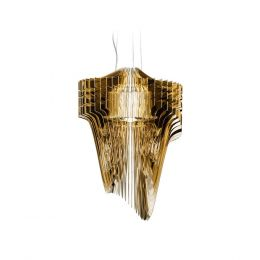 Slamp Aria Gold S LED-Pendelleuchte
