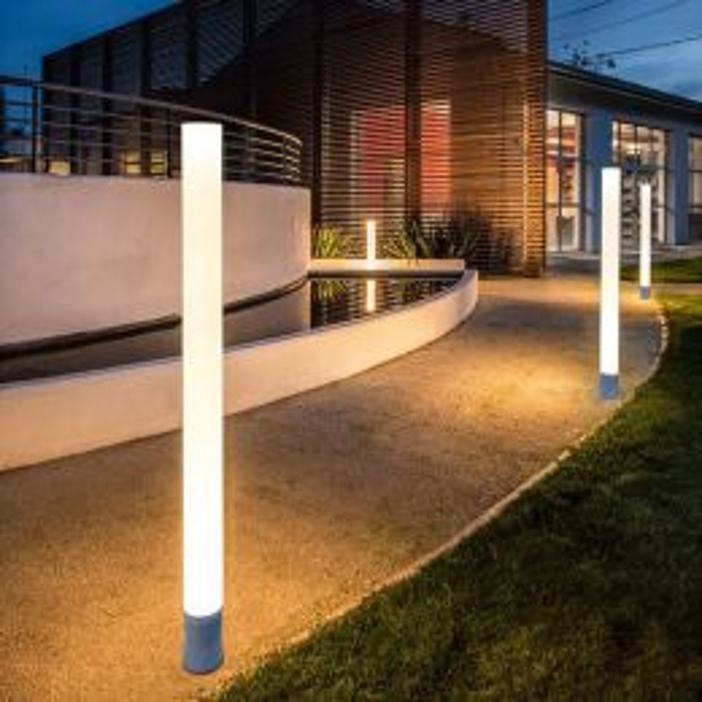 SLV Light Pipe 140 LED-Wege- und Standleuchte Außenleuchte Milieu 1