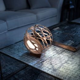 Studio Italia Design Kelly Mini Sphere Appoggio LED-Bodenleuchte Bronze