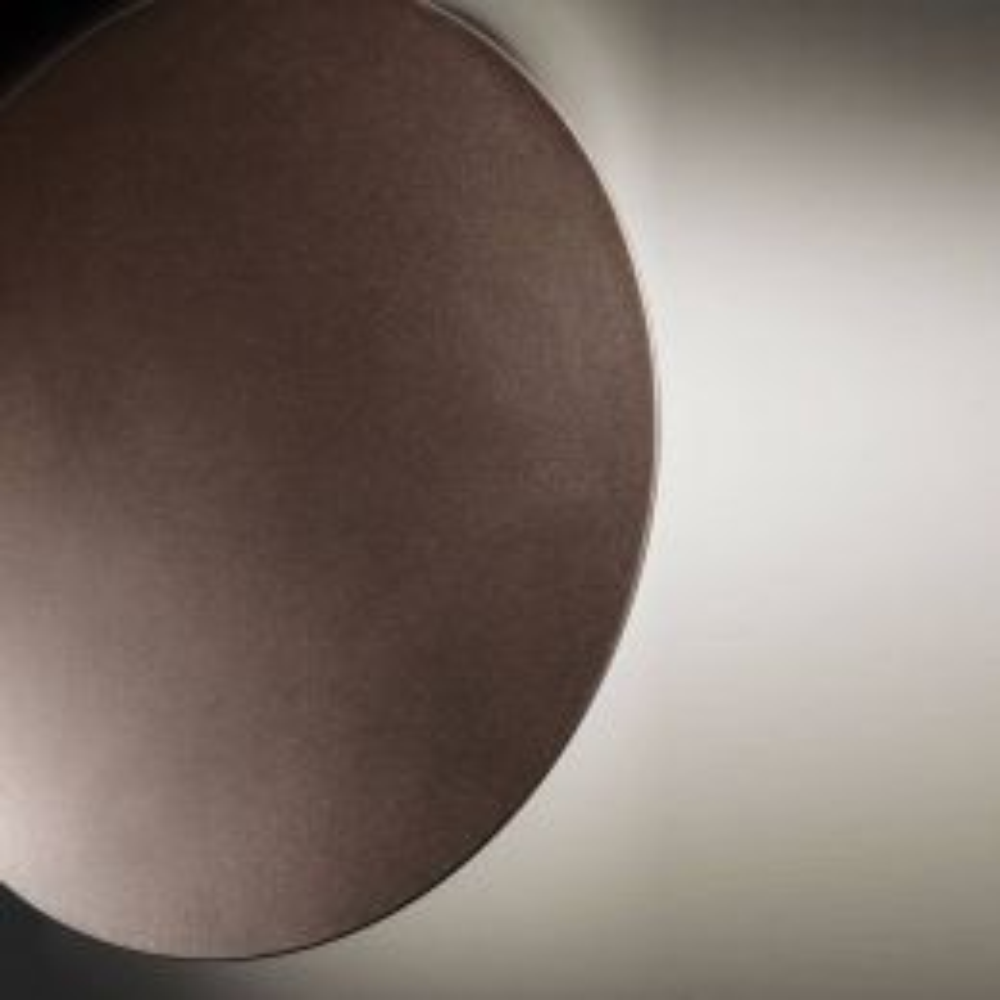 Studio Italia Design Puzzle Single Round LED-Wandleuchte-Bronze