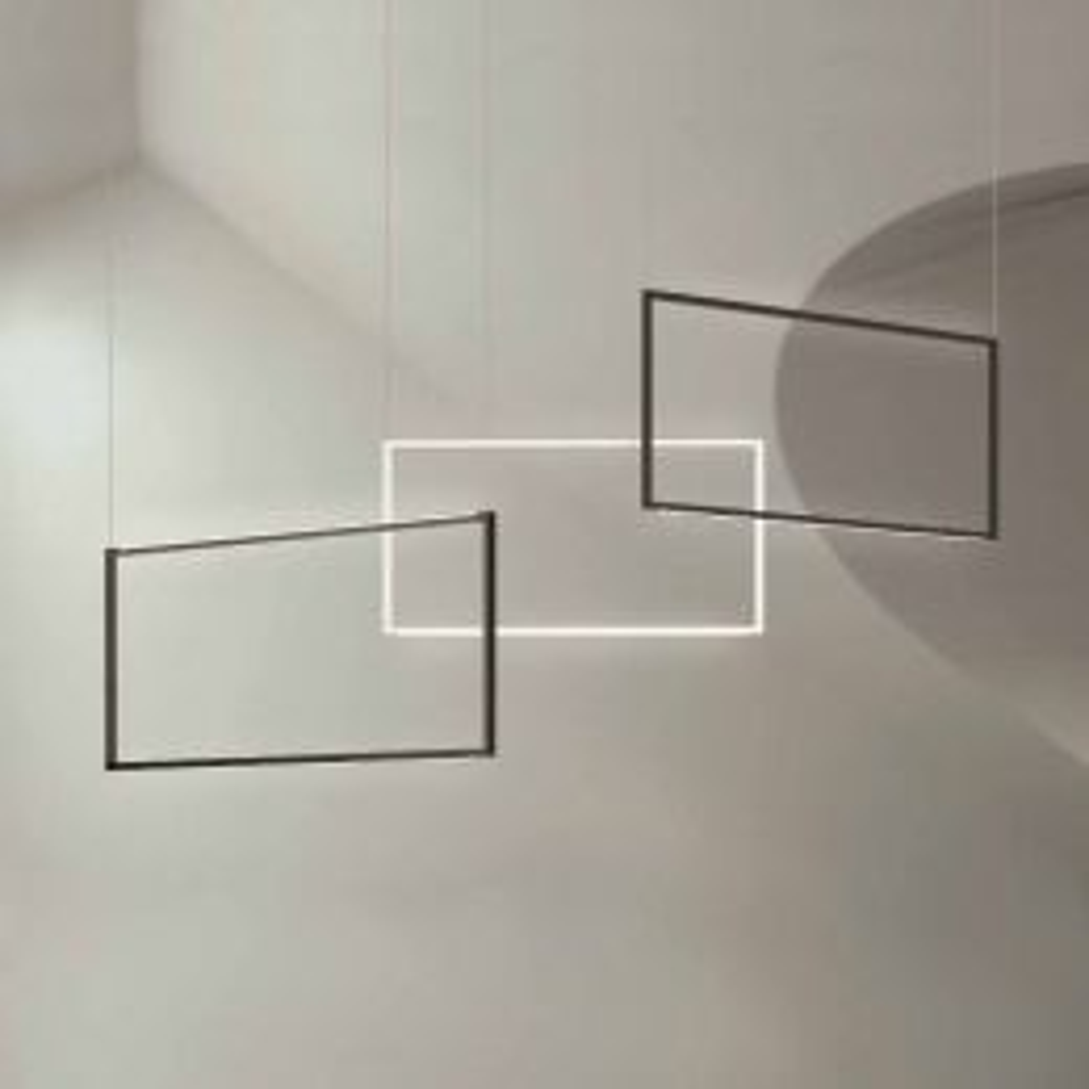 Nemo Spigolo vertical LED-Pendelleuchte