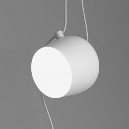 FLOS Aim small LED-Pendelleuchte 3er-Set (Weiß, 2700K)