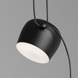 FLOS Aim small LED-Pendelleuchte 3er Set-Schwarz; mit LED (2700K)