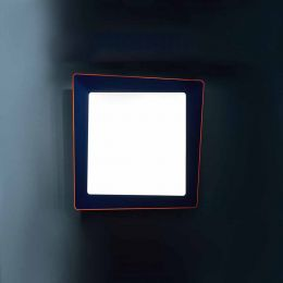 Artemide Crazy Parete/Soffitto LED-Blau - Orange