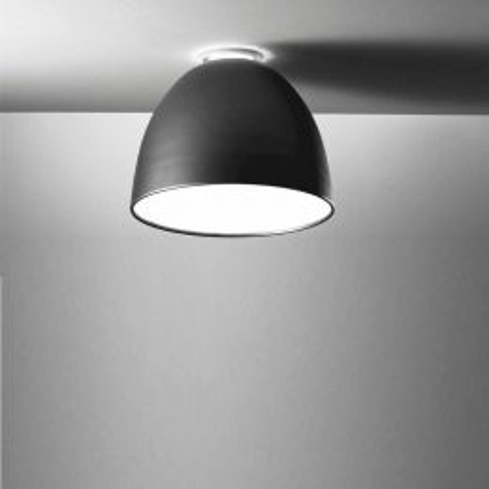 Artemide Nur Mini LED Deckenleuchte-Anthrazitgrau