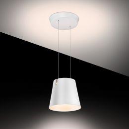 Baltensweiler Fez D LED-Pendelleuchte-Weiß; mit LED (2700K)