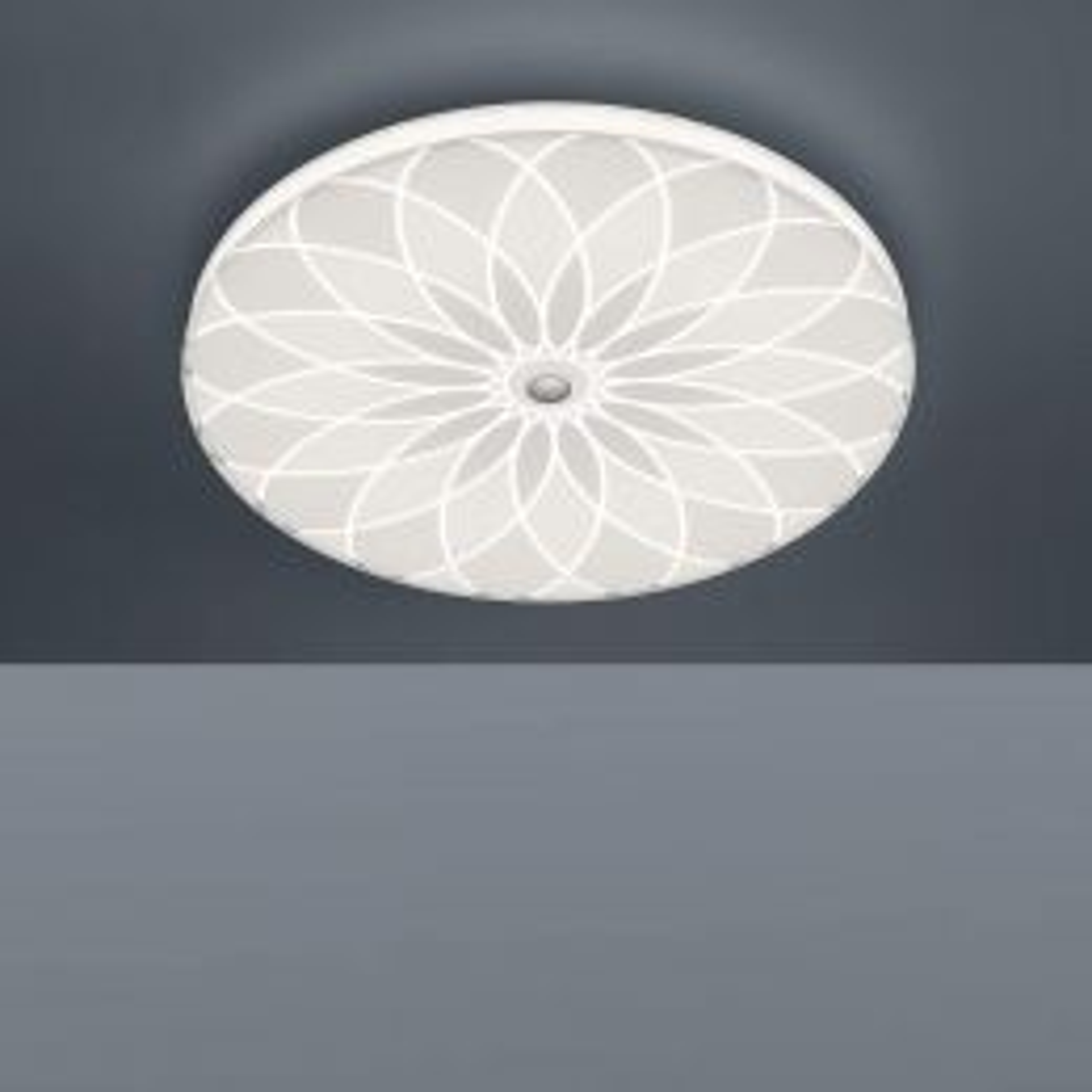 Bankamp Mandala 7718 LED-Deckenleuchte eingeschaltet