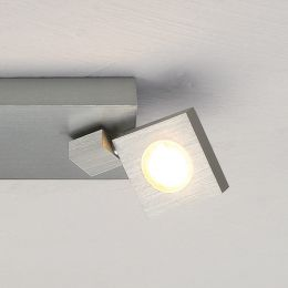 Bopp Flash LED-Deckenstrahler 2-flammig-Aluminium