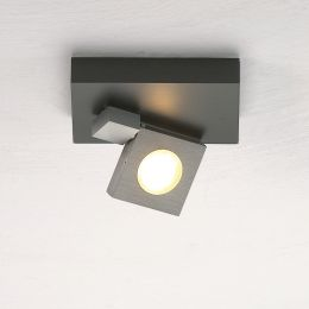 Bopp Flash LED-Deckenstrahler 1-flammig-Anthrazit - Schwarz