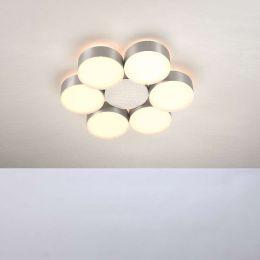 Bopp Leuchten Touch LED-Deckenleuchte 6-flammig rund