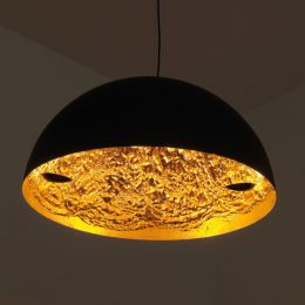 Catellani & Smith Stchu-Moon Ø 60 cm LED-Pendelleuchte gold