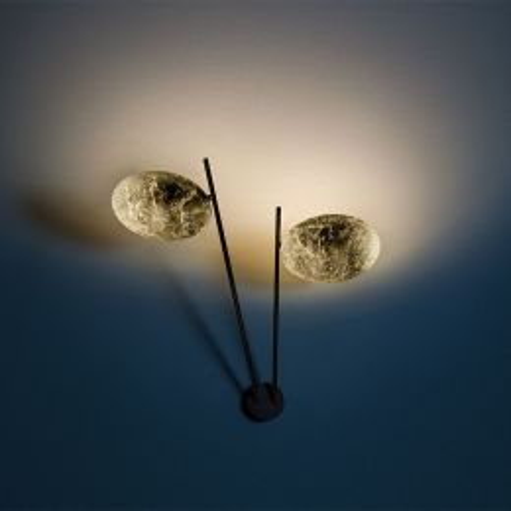 Catellani-Smith LEDERAM W2, LED-Wandleuchte
